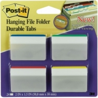 3M™ Post-it Hanging<br> File Durable Tabs<br> #686A-1