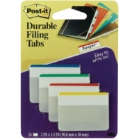 3M™ Post-it Durable <br> Filing Tabs #686F-1