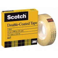"3M™Scotch® 1/2""<br>Double-Coated Tape"