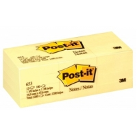 "3M™ Post-it Note<br> 1.5x2"" #653"